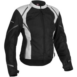 Black Firstgear Womens Mesh Tex Textile Jacket
