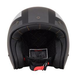 AFX FX-76 FX76 Tricolor Open Face Helmet Grey