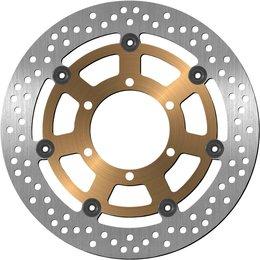 BikeMaster Front Brake Rotor Billet Aluminum For Honda CB900F 919 CBR600F4i 643 Unpainted