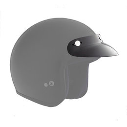Black Cyber Replacement Visor For U-1 U-4 Open Face Helmet