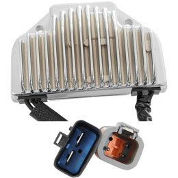 Drag Specialties Premium Voltage Regulator For Harley-Davidson Natural 2112-1041 Metallic
