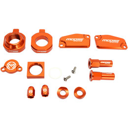 Moose Racing Aluminum Bling Pack KTM 85 SX 17/14 Freeride 250 R Orange 1231-0923 Orange