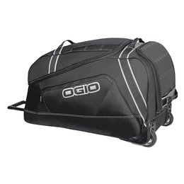 Ogio Big Mouth Rolling Luggage Wheeled Gear Bag Black