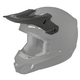Matte Black Fly Racing Replacement Visor For Kinetic Helmet