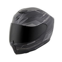 Scorpion EXO-R420 EXOR 420 Techno Full Face Helmet Black