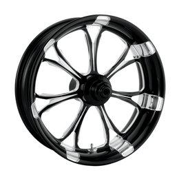 Performance Machine 21x3.5 Paramount Front Wheel Harley Black 12027106RPARBMP Black