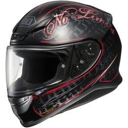 Red Shoei Mens Rf-1200 Rf1200 Inception Full Face Helmet 2013
