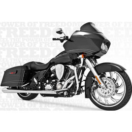 Freedom Performance Exhaust American Outlaw Dual Chrome For HD FLH FLT 1986-2008
