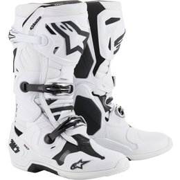 Alpinestars Mens Tech 10 Boots White