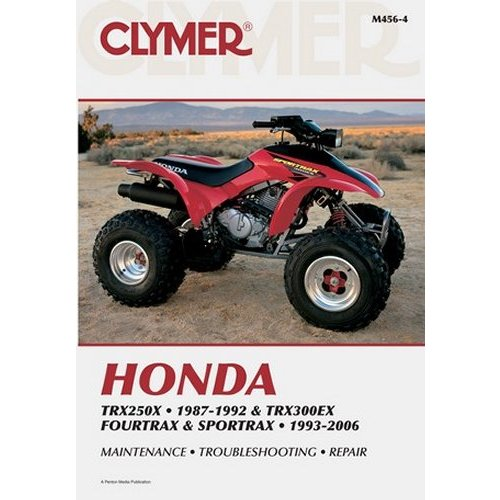 35 44 clymer repair manual for honda atv trx250x 631054 rh ridersdiscount com ATV Honda TRX 250 Recon ATV Honda TRX 250 Recon