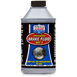 Lucas Oil Synthetic Brake Fluid DOT 3 12 Oz 10825 Unpainted