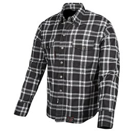 Black, White Speed & Strength Black 9 Moto Armored Long Sleeve Shirt 2014 Black White