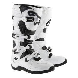 White, Black Alpinestars Mens Tech 5 Boots 2015 Us 5 White Black