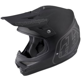 Troy Lee Designs Air Midnight 2 DOT SNELL Certified MX Motocross Offroad Helmet Black