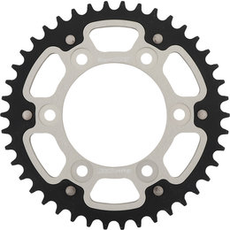 Supersprox Stealth Rear Sprocket 41T Ducati Monster Sport Silver RST-735-42-SLV Silver