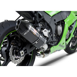 Stainless Steel Mid Pipe/carbon Fiber Muffler/carbon Fiber End Cap Yoshimura R-77d 3 4 System With Dual Outlet Ss Cf Cf For Kawasaki Zx-10r 11-13