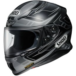Shoei Mens RF-1200 RF1200 Valkyrie Full Face Helmet Grey