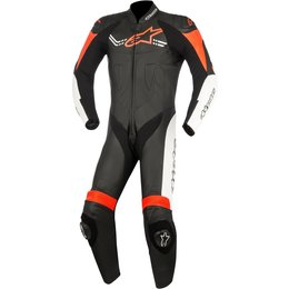 Alpinestars Mens Challenger V2 1 Piece Leather Suit Black