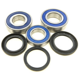 All Balls Racing Rear Wheel Bearing And Seal Kit Yamaha 2015-2016 YZF 25-1727 Unpainted