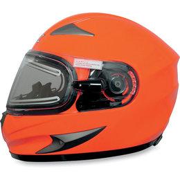Safety Orange Afx Mens Fx-90se Fx90 Se Snow Helmet With Electric Shield