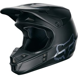 Fox Racing V1 Matte DOT Helmet Black