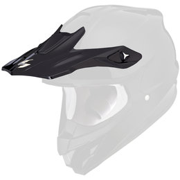 Scorpion VX-34 Replacement Visor Peak MX/Offroad Helmet Accessory Black