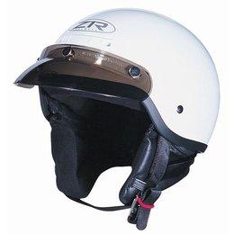 White Z1r The Drifter Half Helmet
