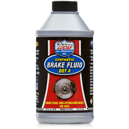 Lucas Oil Synthetic Brake Fluid DOT 4 12 Oz 10827 Unpainted