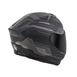 Scorpion EXO-R420 EXOR 420 Techno Full Face Helmet Black