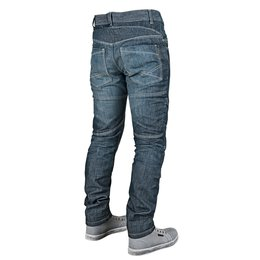 Blue Speed & Strength Mens Rust And Redemption Armored Moto Jeans 2015 30x32