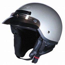 Silver Z1r The Drifter Half Helmet