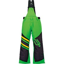 Arctiva Youth Boys Comp Insulated Bib Snowmobile Pants Green