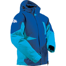 HMK Womens Dakota Waterproof Snowmobile Jacket Blue