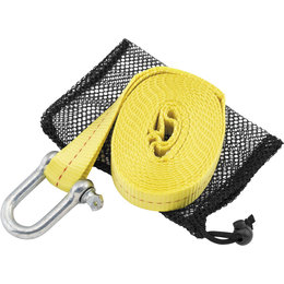 Quadboss 12 Foot ATV Tow Strap 156580 Yellow