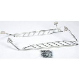 Skinz Air-Frame Running Boards For Arctic Cat Snowmobiles Silver ACAFRB200-AL Silver