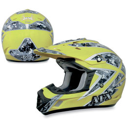Hi-vis Yellow Afx Mens Fx-17 Fx17 Urban Camo Helmet