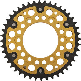 Supersprox Stealth Rear Sprocket 44T Ducati Monster Sport Gold RST-735-44-GLD Gold