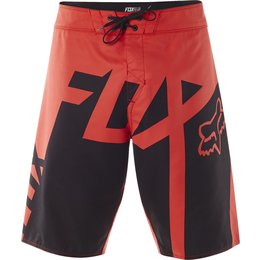 Fox Racing Mens Gator Boardshorts Red