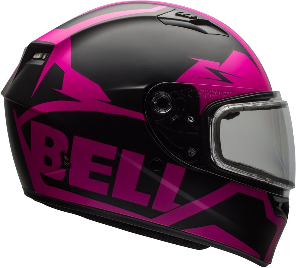 Bell Motorcycle Helmet >> $103.96 Bell Womens Qualifier Dual Shield Snow Mobile #995356
