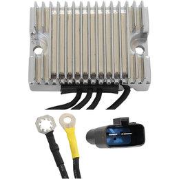 Drag Specialties Premium Voltage Regulator For Harley-Davidson Chrome 2112-1051 Metallic