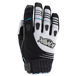 White Knox Mens Hand Armour Oryx Or2 Textile Offroad Gloves 2014