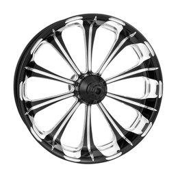 Performance Machine 21x3.5 Revel Front Wheel For Harley Black 12027106PRELBMP Black