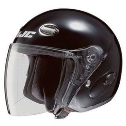 HJC CL-33 CL33 Open Face Helmet Black
