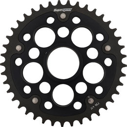 Supersprox Stealth Rear Sprocket Ducati 748R Biposto 41T Black RST-736-41-BLK Black
