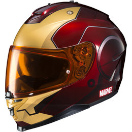 HJC Marvel Iron Man Officially Licensed IS-17 IS17 Full Face Helmet Red