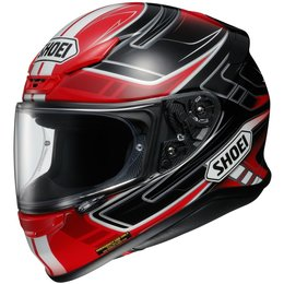 Shoei Mens RF-1200 RF1200 Valkyrie Full Face Helmet Red