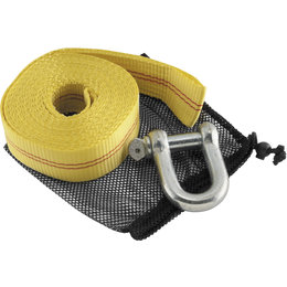 Quadboss Heavy-Duty 20 Foot ATV Tow Strap 156652 Yellow