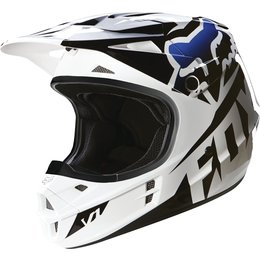 Fox Racing V1 Race DOT Helmet Black