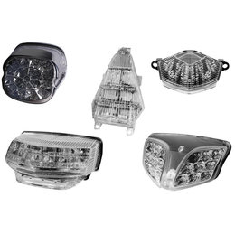 Rumble Concept LED Integrated Taillight Clear For Honda CBR600F 1991-1994