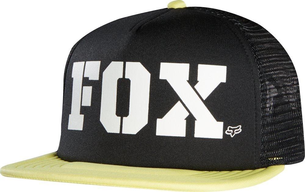 f6e3b5ff13d ... ebay fox racing womens vapors flat bill snapback adjustable trucker hat  black 368e3 03587